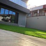 人工芝(ベルグラビア)の写真